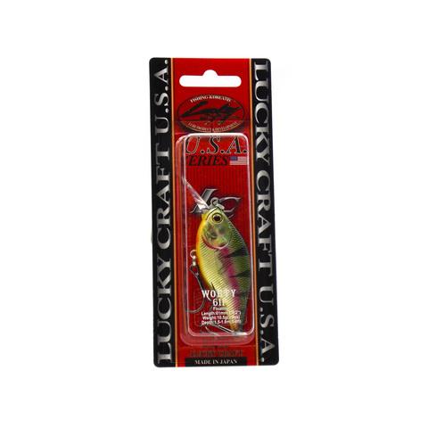 Воблер Lucky Craft Wobty 61F - 884 Aurora Gold Northern Perch