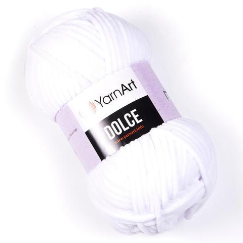 Пряжа Dolce (Dolce), цвет Белый, Артикул: 741