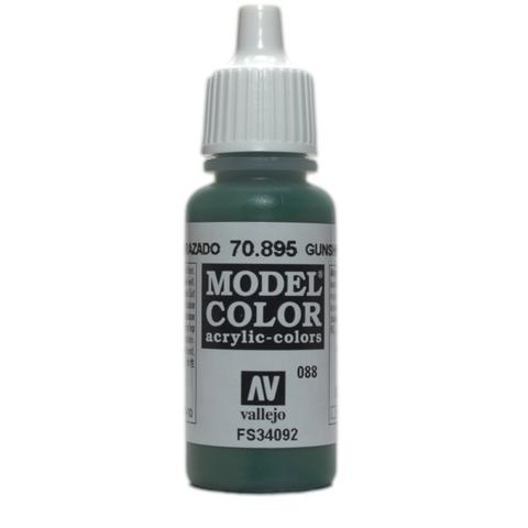 Model Color Gunship Green 17 ml.