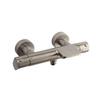 Смеситель термостатический для ванны с каскадным изливом ALEXIA 363901SNC никель - фото №1