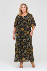 Платье Тэсия черное