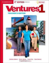 Ventures Second Edition 1 Teacher's Edition with Assessment Audio CD/CD-ROM
