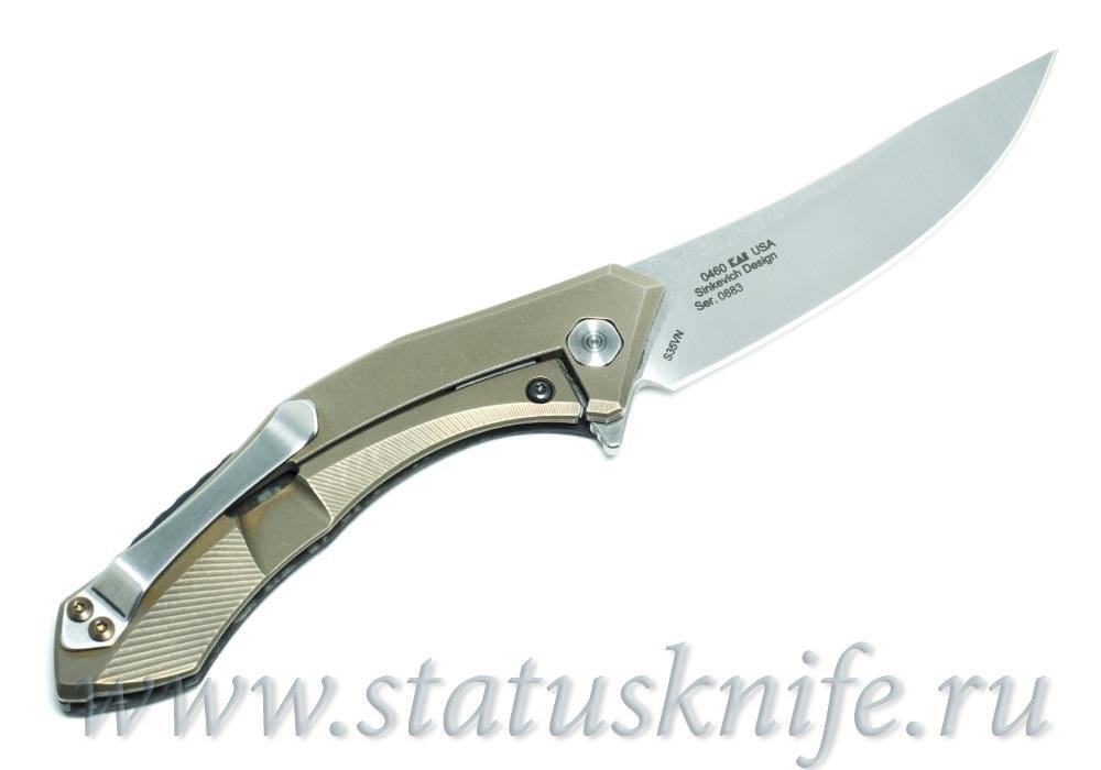 Нож Zero Tolerance 0460CF ZT 0460CF Кастомизированный - фотография