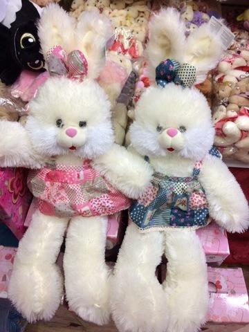 Зайцы в двух расцветках(поштучно)