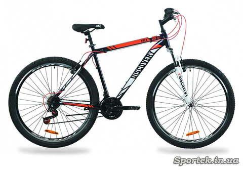 Горный универсальный велосипед Discovery Trek 2020 с колесами 29 - сине-оранжевый