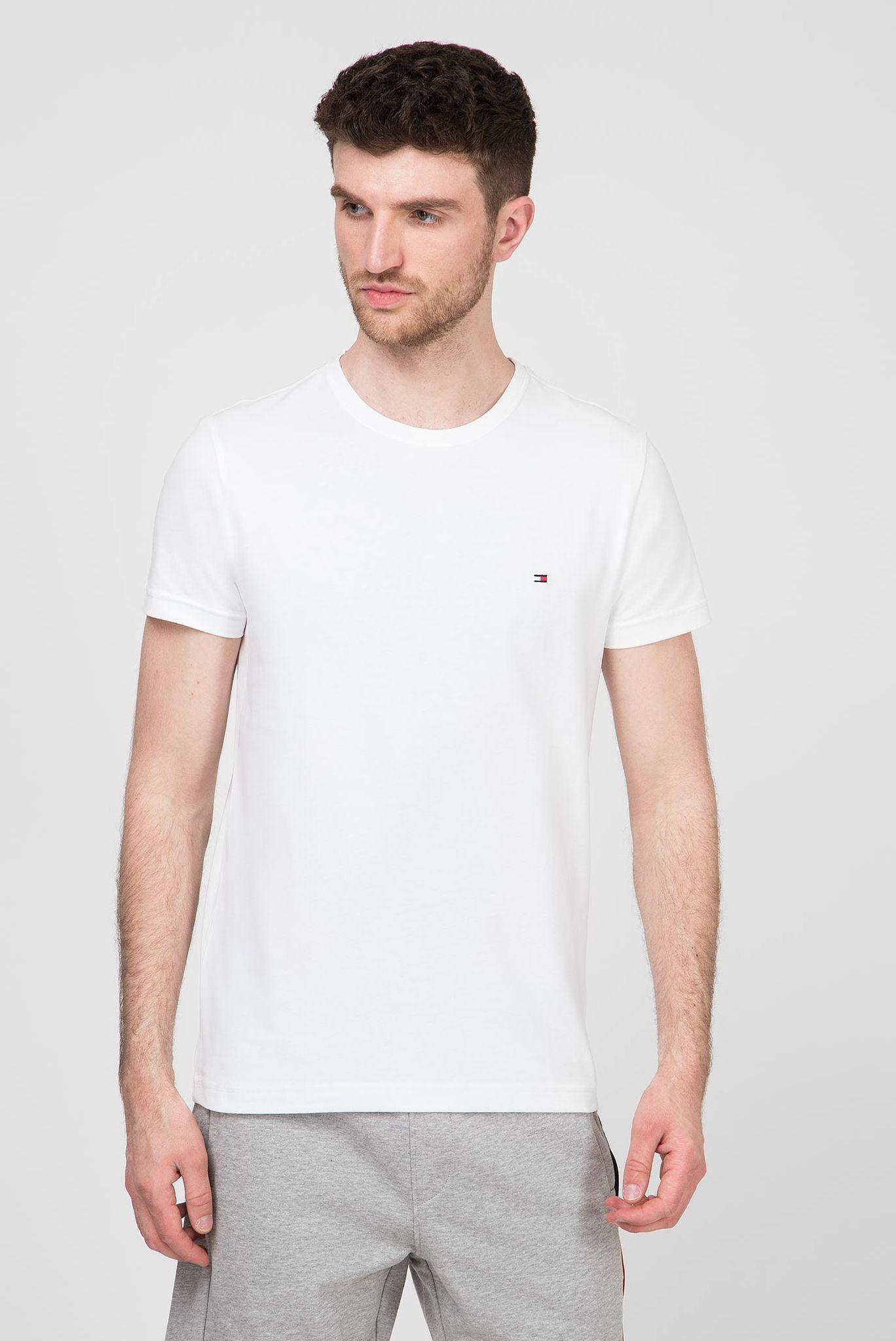 Мужская белая футболка ESSENTIAL COTTON Tommy Hilfiger