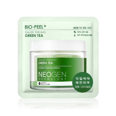 Neogen Dermalogy Bio-Peel Gauze Peeling Green Tea успокаивающие пилинг-диски с зеленым чаем