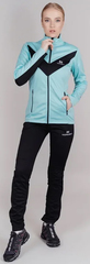Утеплённый лыжный костюм Nordski Base Mint/Black 2021 женский