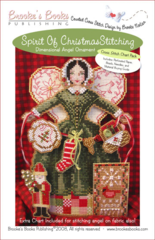 Brooke`s Books Publishing Spirit of Christmas Stitching Angel