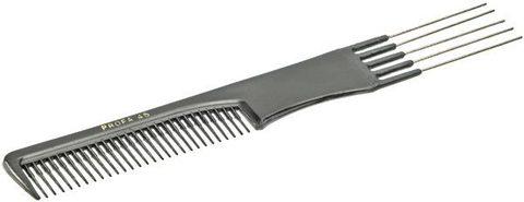 Расчёска Sibel PROFA 45 с металлической вилообразной ручкой 8430945
