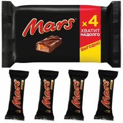 Шоколадный батончик Mars, 4штx40,5г/уп