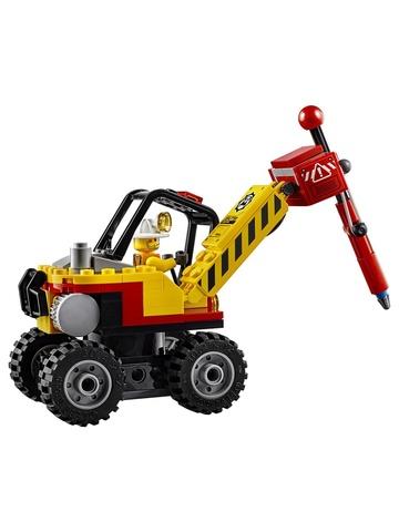 LEGO City: Трактор для горных работ 60185 — Mining Power Splitter — Лего Сити Город