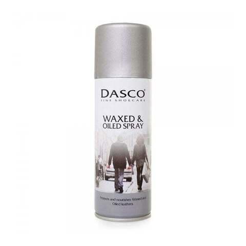Аэрозоль для восстановления и защиты обуви и изделий из Жированных и гладких кож,А4010DAS DASCO WAXED&OILED LEATHERS, 200мл.