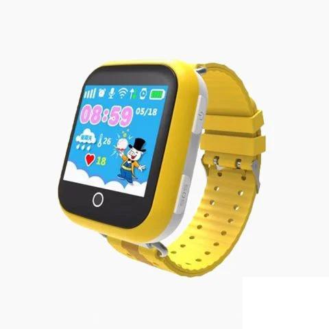Умные часы детские Q750 | желтые