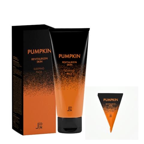 Маска для лица ТЫКВА J:ON Pumpkin Revitalizing Skin Sleeping Pack, 50 мл