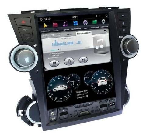 Магнитола Toyota Highlander (08-13) Android 9.0 4/64GB IPS DSP модель ZF-1225