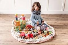 Коврик-мешок для игрушек (2 в 1) Play&Go Print РОЗОВЫЙ БРИЛЛИАНТ 4