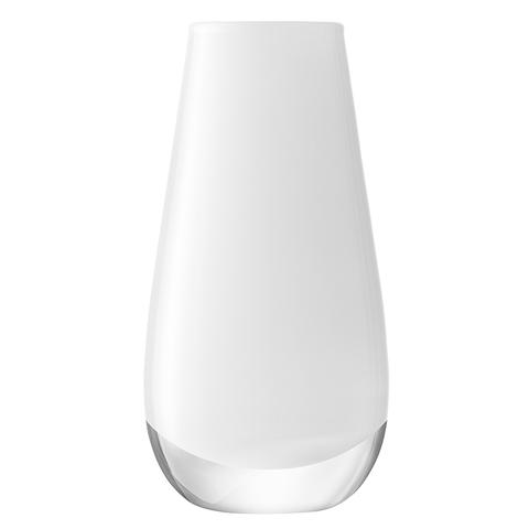 Ваза в форме бутона Flower Colour 14 см белая