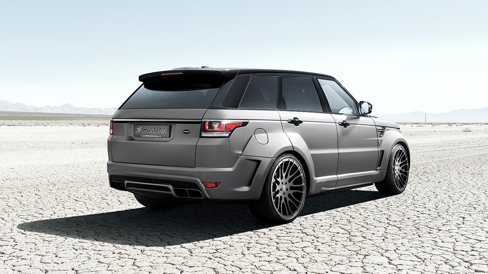 Обвес Hamann для Range Rover Sport Widebody