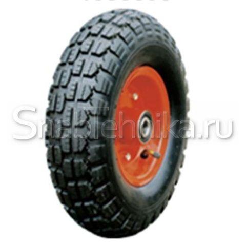 Колесо пневматическое 320 мм со стальным диском  PR2403-A симметричное