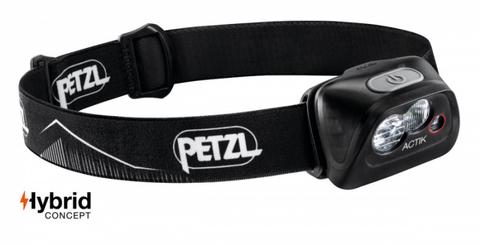 Фонарь налобный PETZL ACTIK E099FA00, черный, новый