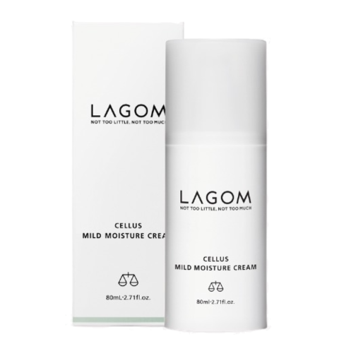 Восстанавливающий крем для лица  LAGOM CELLUS MILD MOISTURE 80ml
