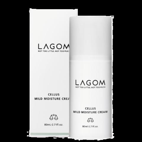 Восстанавливающий крем для лица  LAGOM CELLUS MILD MOISTURE 80ml