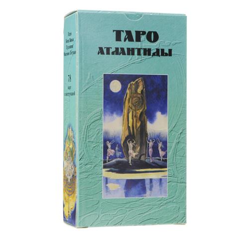 Таро Атлантиды рук+карты