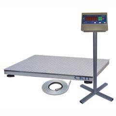 Купить Весы платформенные СКЕЙЛ СКП 500-1215, LED, АКБ, 500кг, 200гр, 1200х1500, RS-232, стойка (опция), с поверкой, выносной дисплей. Быстрая доставка