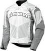 Мотокуртка - ICON CONTRA (текстиль, белая)