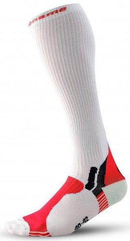 Носки компрессионные Noname NC1 13, white/red