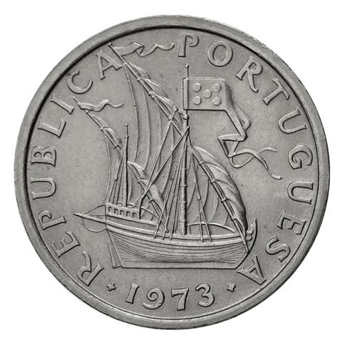 10 эскудо Парсуник 1973 год, Португалия. aUNC