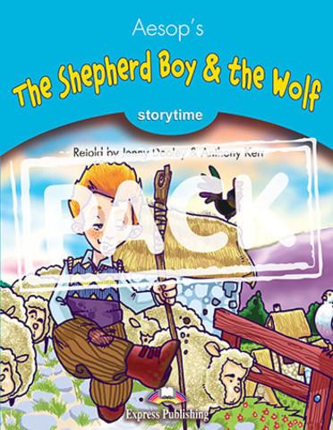 The Shepherd Boy & the Wolf. Книга для чтения. Stage 1 (1-2 классы) - комплект с аудио-диском