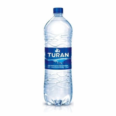 Вода минеральная TURAN газ 1,5 л пл/б КАЗАХСТАН