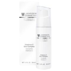 Регенерирующий концентрат Vitaforce C Skin Complex, Demanding Skin, Janssen Cosmetics, 30 мл