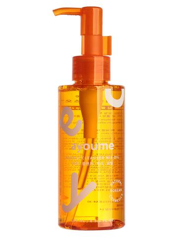 Гидрофильное масло-пенка для снятия макияжа лица Ayoume Bubble Cleansing Oil