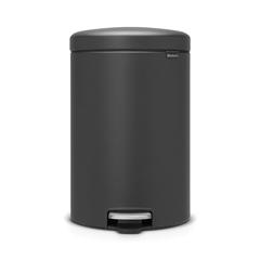 Мусорный бак newicon (20 л), Минерально-графитовый