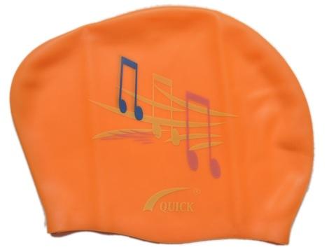 Шапочка для плавания  (Оранжевый)
