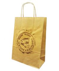 Natural Cosmetics Пакет бумажный с крученными ручками 33*26*12 см