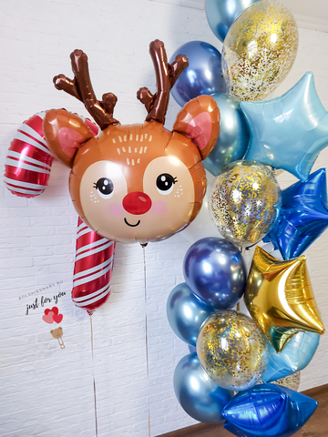 Купить шарики на Новый Год