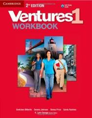 Ventures Second Edition 1 Workbook with Audio CD