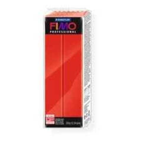 Полимерная глина Fimo Professional чисто-красный 350 грамм
