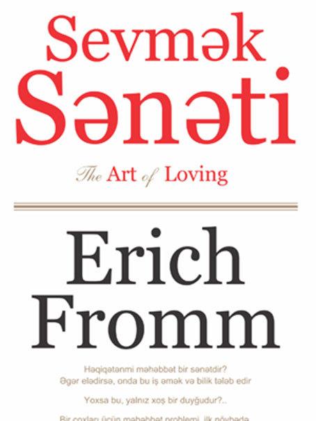 Kitab Sevmek sənəti | Erix Fromm | 2000028177966 | Alinino.az