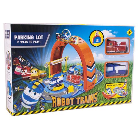 Парковка Роботы Поезда (2 поезда) (43*8*27)