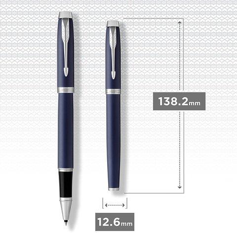 Ручка роллер Parker IM Metal Matte Blue CT123