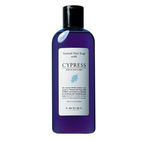 Шампунь для волос LEBEL CYPRESS, 240 мл.