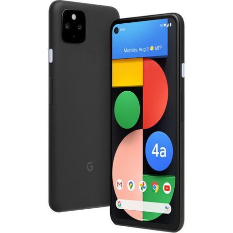 Смартфон Google Pixel 4a 5G 6/128GB Just Black (Черный)