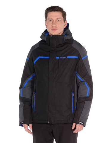 Горнолыжная мужская куртка BATEBEILE черного цвета.