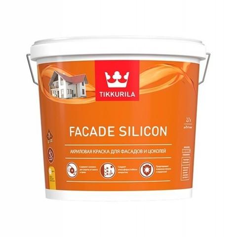 Tikkurila Facade Silicone/Тиккурила Фасад Силикон акриловая краска для фасадов и цоколей