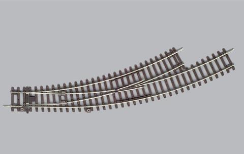 BWL: Радиусная стрелка - Левая R2/R3, A-Gleis